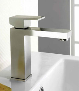 Stainless Steel Metro basin mixer tap