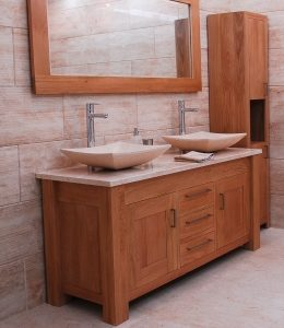 Inspire oak washstand