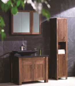 Walnut Finesse washstand set