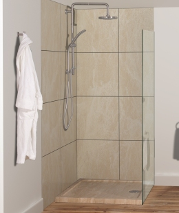 Stonearth shower & shower tray